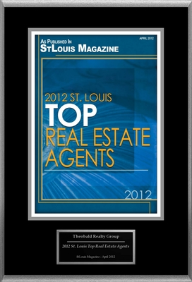 "Theobald Realty Group Selected For ""2012 St. Louis Top Real Estate Agents"".  (PRNewsFoto/Theobald Realty Group)"