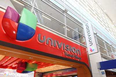 Univision Travel Shop at Dallas Fort Worth International Airport Terminal D