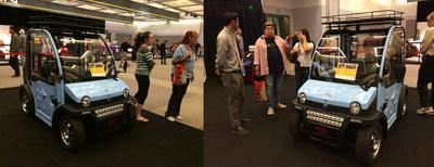 ZAP and Jonway Auto Exhibits URBEE in Los Angeles Auto Show