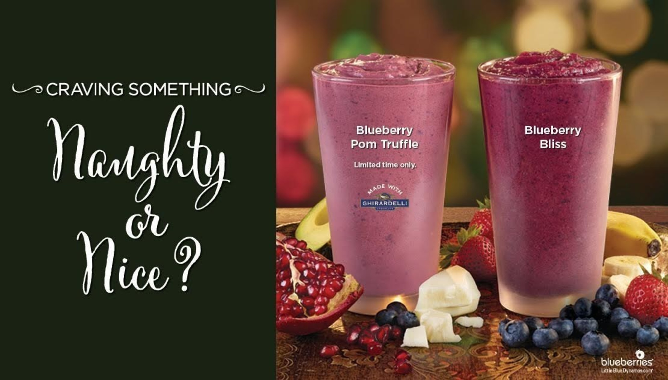 Holiday Smoothie Recipe Unveiled at Tropical Smoothie Cafe