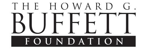 The Howard G. Buffett Foundation Logo. (PRNewsFoto/The Howard G. Buffett Foundation) (PRNewsFoto/THE HOWARD G_ BUFFETT FOUNDATION)