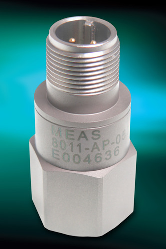 4-20 mA Loop Power Accelerometers for Condition Monitoring from Measurement Specialties Offer Reliable ...