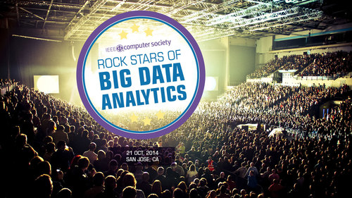 Early registration is now open for Rock Stars of Big Data Analytics, October 21 in San Jose, California. (PRNewsFoto/IEEE Computer Society)