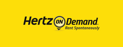 Hertz On Demand logo.  (PRNewsFoto/The Hertz Corporation)
