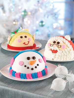This Holiday Season, Deck the Halls with Baskin-Robbins' Festive New Ice Cream Cakes.  (PRNewsFoto/Baskin-Robbins)