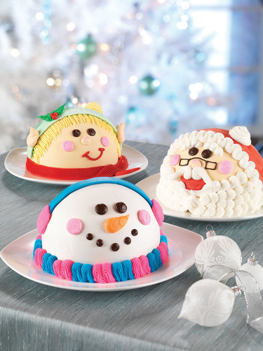 This Holiday Season, Deck the Halls with Baskin-Robbins' Festive New Ice Cream Cakes.  ...