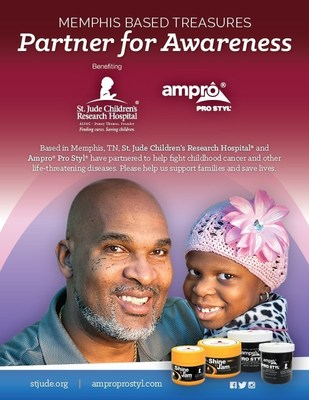 Memphis-Based Treasure Ampro Industries, Inc. and St. Jude Children's Research Hospital(R) Partner for Historic Awareness Campaign