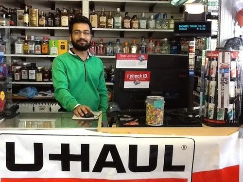 Live Oak Wine & Spirits Teams Up With U-Haul to Grow Business. (PRNewsFoto/U-Haul)