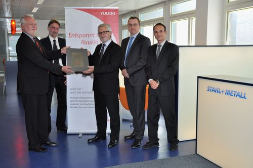 Stahl+Metall AG wird zertifizierter Partner von Ruukki in der Schweiz