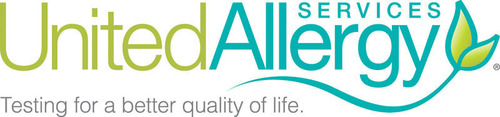 United Allergy Services Logo. (PRNewsFoto/United Allergy Services (UAS)) (PRNewsFoto/UNITED ALLERGY SERVICES (UAS))