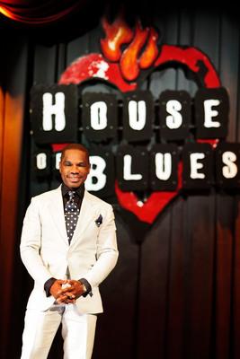 Gospel Music Icon Kirk Franklin.  (PRNewsFoto/Live Nation)