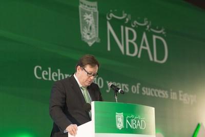Alex Thursby GCEO of NBAD (PRNewsFoto/National Bank of Abu Dhabi- NBAD) (PRNewsFoto/National Bank of Abu Dhabi- NBAD)