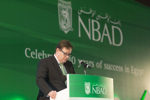 Alex Thursby GCEO of NBAD (PRNewsFoto/National Bank of Abu Dhabi- NBAD)