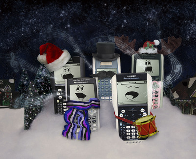 Give a Gift that Counts with a Texas Instruments Student Calculator.  (PRNewsFoto/Texas Instruments)