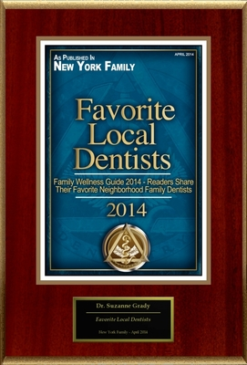"Dr. Suzanne Grady Selected For ""Favorite Local Dentists"""
