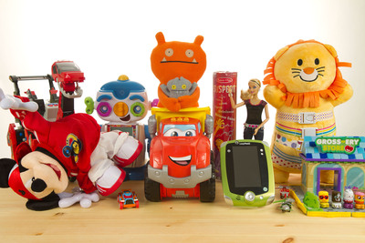 2012's hottest toys for Christmas.  (PRNewsFoto/Best Toys Guide)