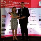 ACFX has been awarded a Broker of a Year and Best Affiliate Program awards during a shutting rite of Arabcoms 14th MENA Forex Managed Funds and Investment Expo hold in Dubai. Mr. Petar Gazivoda General manager of ACFX perceived a awards from Mrs. Katia Tayar boss of Arabcom Group.