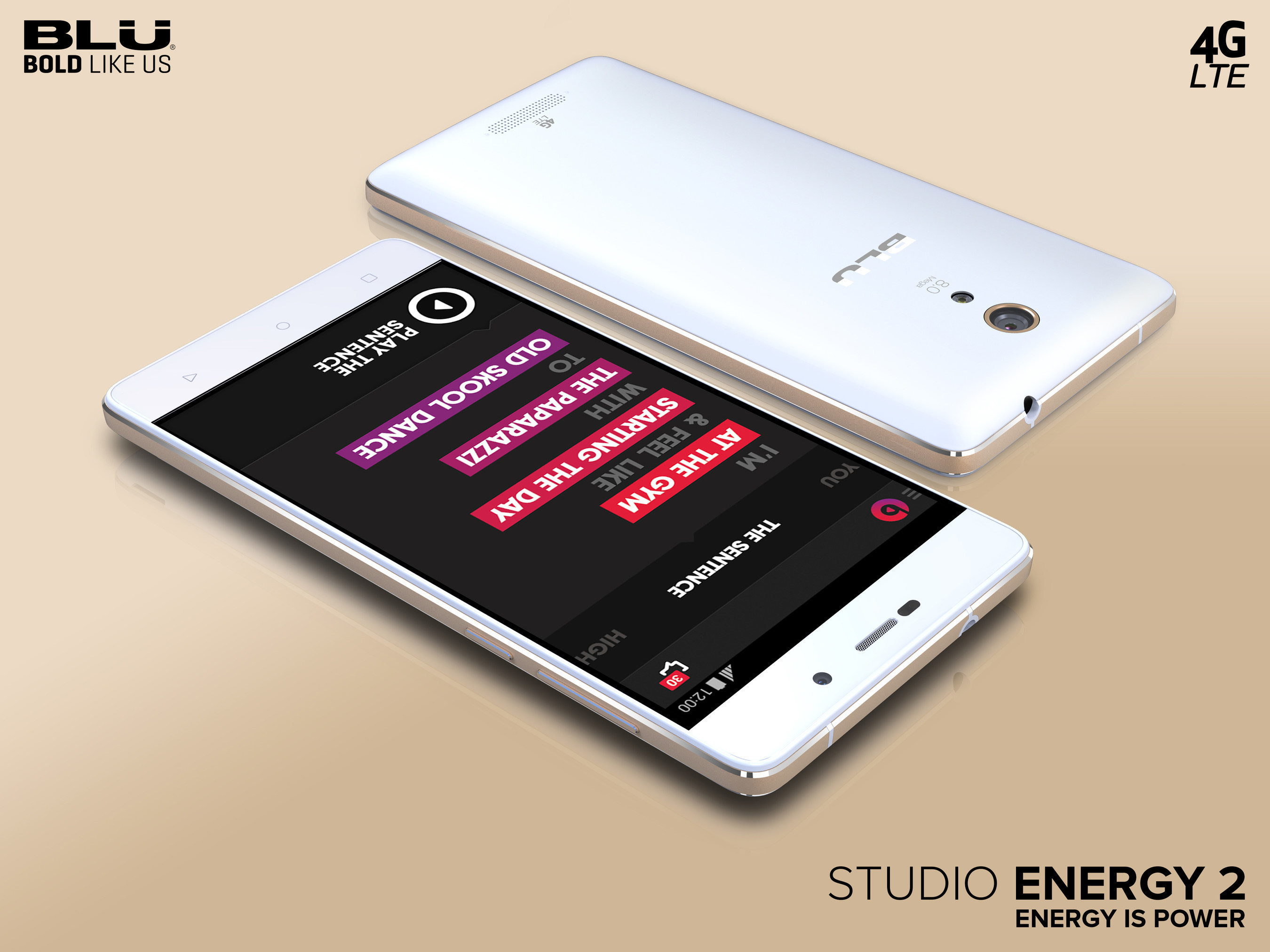 BLU Products Announces Second Generation of Monster Battery ENERGY Series Smartphones with the BLU Studio Energy 2 and BLU Energy X -- Now Available for Purchase on Amazo