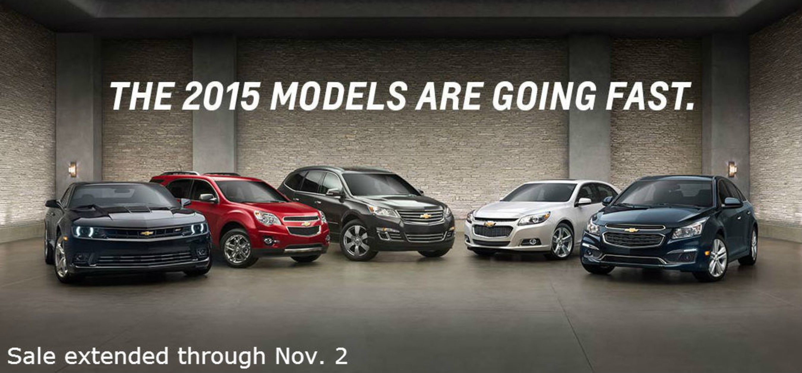Chevrolet of Naperville extends deadline for sale incentives