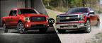 Dahl Ford compares the 2014 Ford F-150 to the 2014 Chevy Silverado. (PRNewsFoto/Dahl Ford)