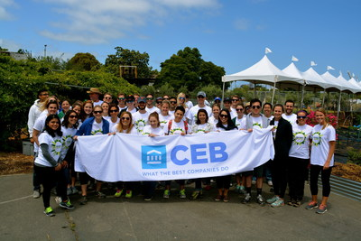 CEB Global Impact Week 2015, San Francisco, Calif.