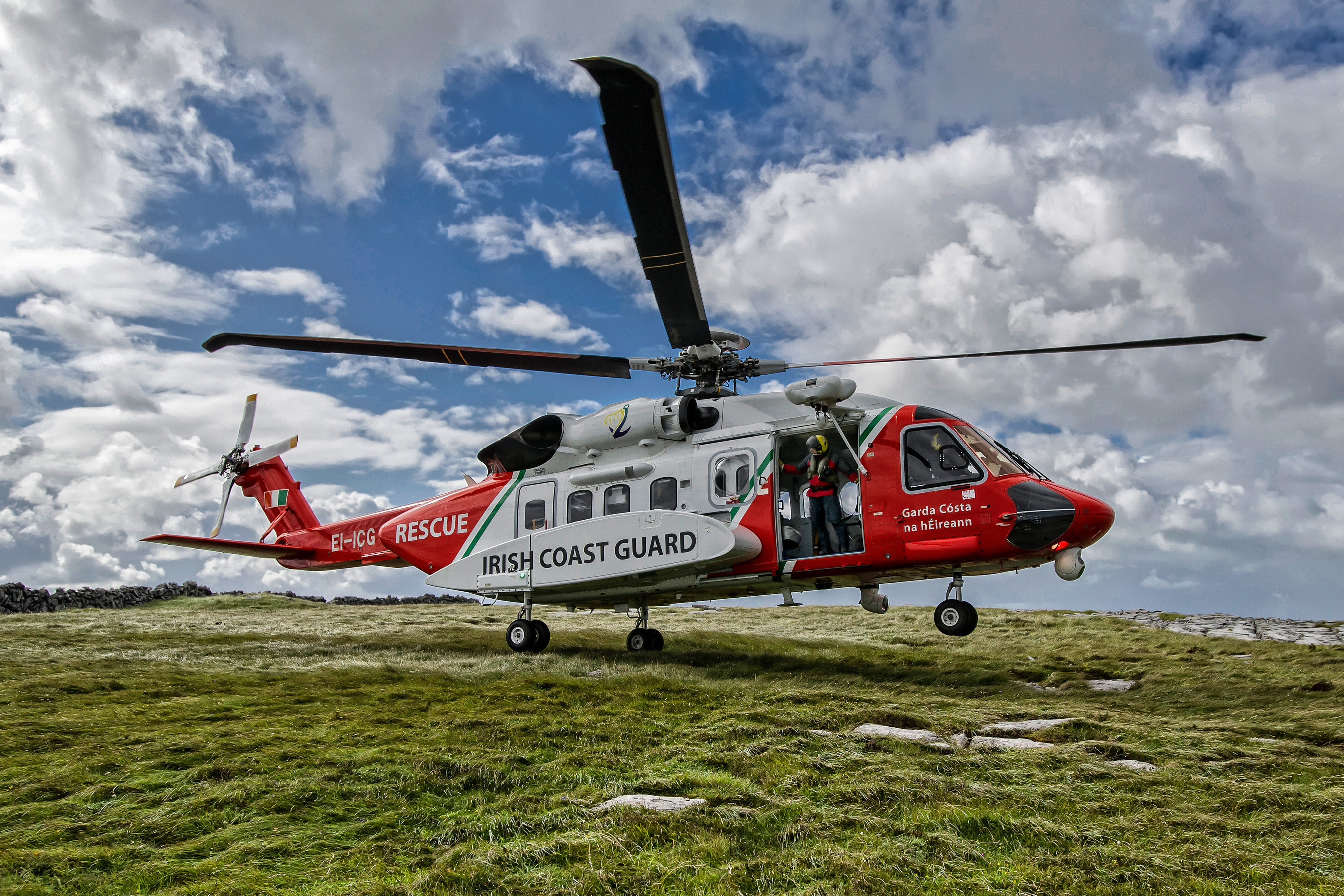 Irish Coast Guard and CHC Perform More than 1,000 SAR