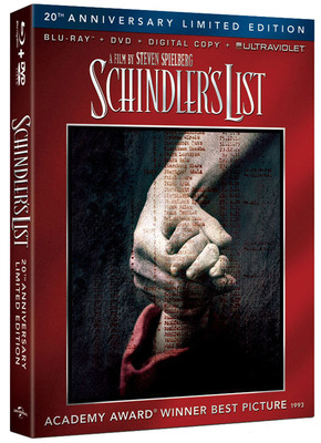 From Universal Studios Home Entertainment: Schindler's List.  (PRNewsFoto/Universal Studios Home Entertainment)
