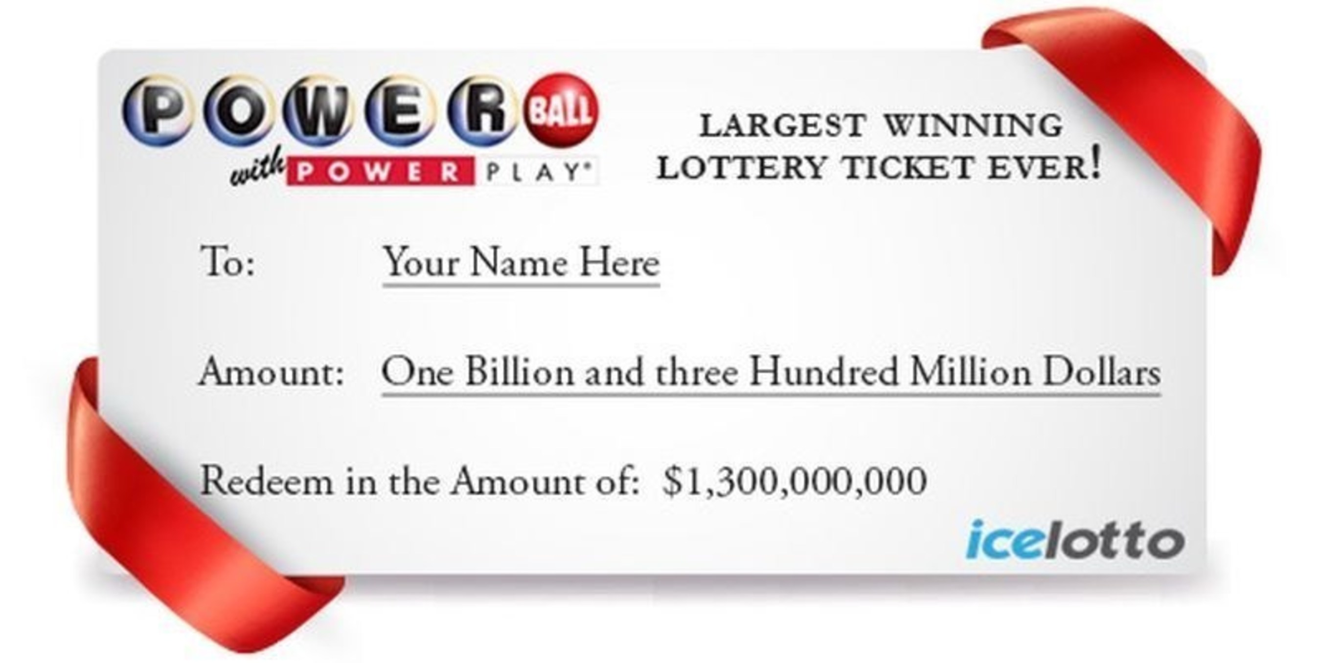 Buy your winning lottery tickets online with icelotto.com (PRNewsFoto/icelotto) (PRNewsFoto/icelotto)