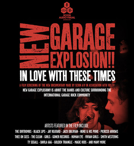 Scion A/V Presents Exclusive Screenings of Documentary New Garage Explosion!!: In Love With These