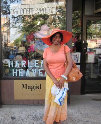 Harlem Hat Day in the Sun.  (PRNewsFoto/The Headwear Association)
