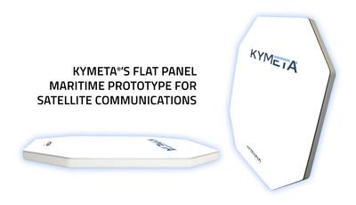 Kymeta's maritime (ASM) product prototype