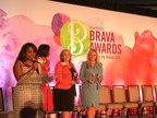 American Humane President and CEO Dr. Robin Ganzert (right) receives SmartCEO Magazine's Brava Award for top female CEOs.