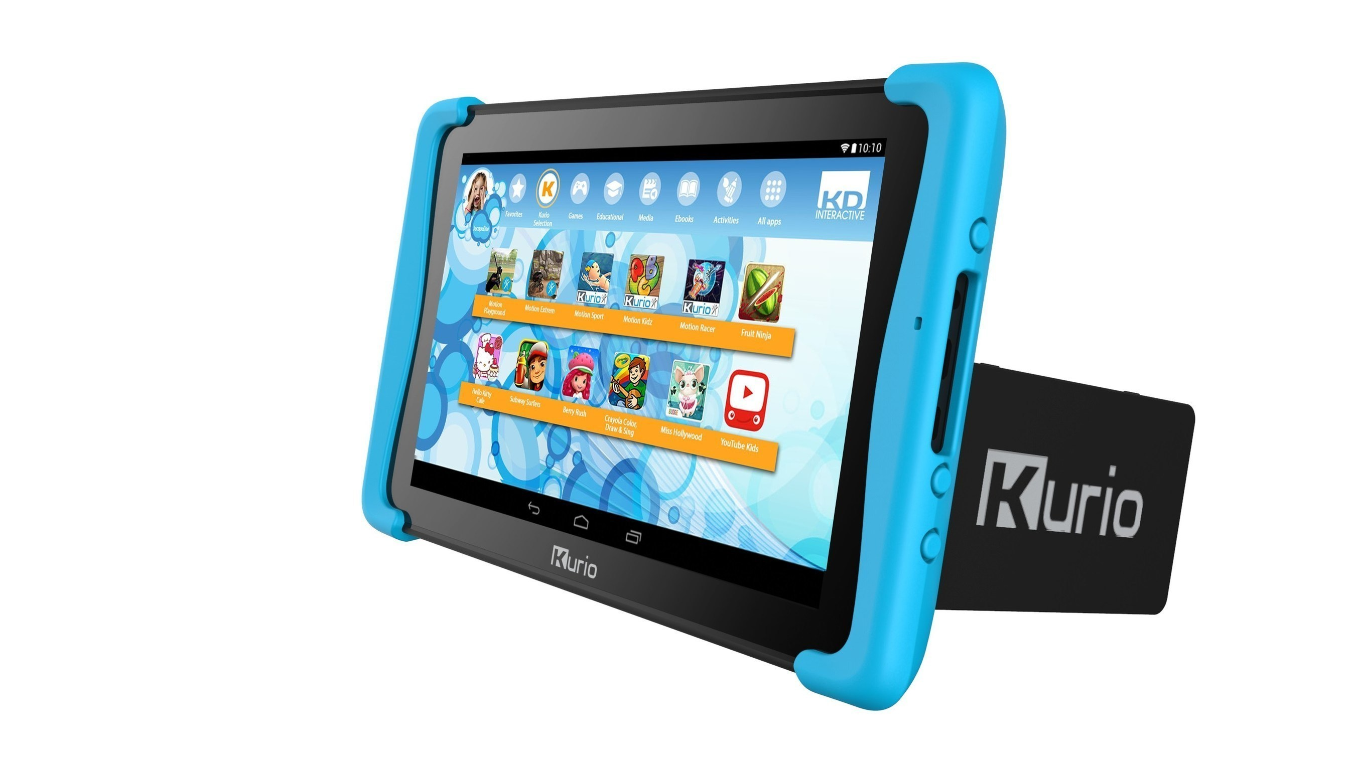 KD Interactive Introduces Kurio Smart, The First Windows 2-in-1 Tablet Computer For Kids -- Combining The Best Of Productivity And Fun For Just $199.99