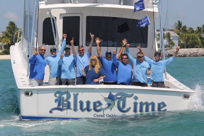 Team Blue Time Wins 2013 World Sailfish Championship in Key West, Florida.