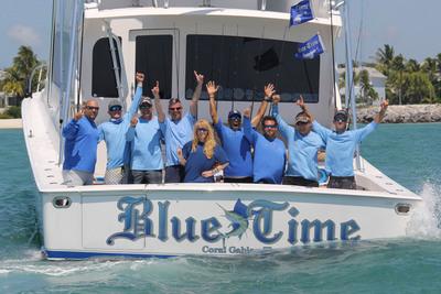 Team Blue Time Wins 2013 World Sailfish Championship in Key West, Florida.