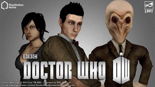 Doctor Who Comes to PlayStation(r)Home. (PRNewsFoto/Sony DADC New Media Solutions) (PRNewsFoto/SONY DADC NEW MEDIA SOLUTIONS)