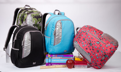 Back-to-School with eBags Bookworm Kids Pack. (PRNewsFoto/eBags.com)