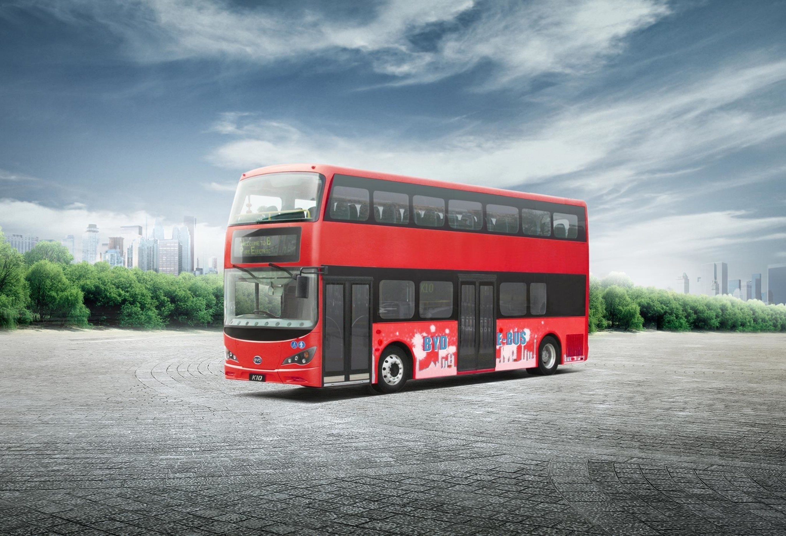 London England's Iconic Double-Decker Buses to go Electric