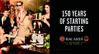 BACARDI Rum - 150 years of starting great parties!.    (PRNewsFoto/Bacardi Limited)