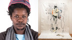 Gareth Nyandoro, from Zimbabwe, won the Emerging Voices art award.