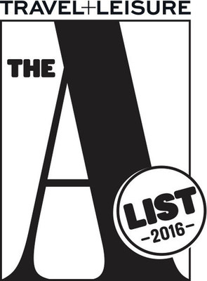 Travel + Leisure A-List for 2016