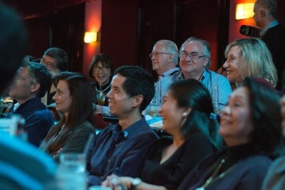 Audience at the DDF 2015 Inaugural New York Night Of Laughter