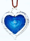 NGVAC - Blue Shattered Heart(TM) - universal symbol for sane gun laws. (PRNewsFoto/National Gun Victims Action...)