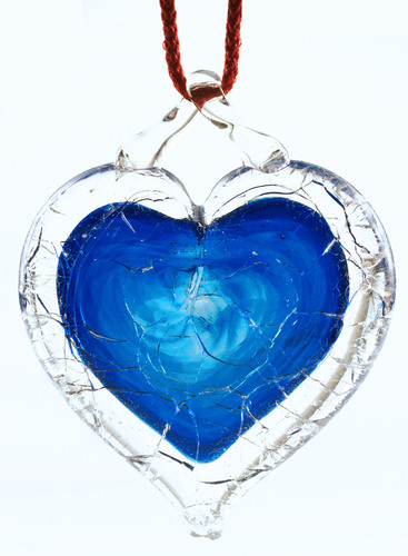 NGVAC - Blue Shattered Heart(TM) - universal symbol for sane gun laws. (PRNewsFoto/National Gun Victims ...