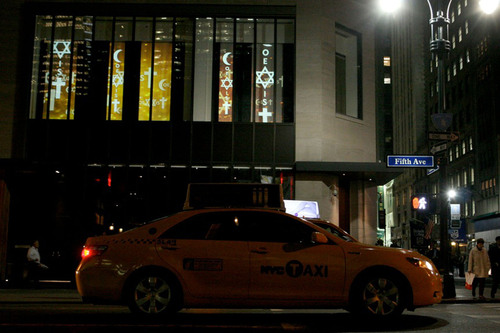 Coexist Foundation Lights Up Fifth Avenue