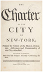 The Charter of the City of New-York, Printed by John Peter Zenger, 1735. Estimate: $20,000-30,000
