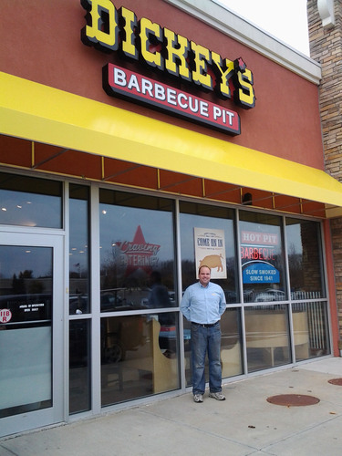 Dickey's multi-unit franchise owner Reid Grubbs is excited to open his newest location in Clifton Park.  (PRNewsFoto/Dickey's Barbecue)