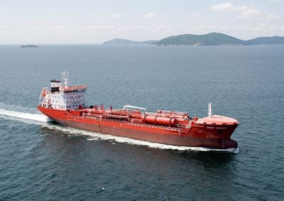 The tanker Duzgit Integrity is still being held by the government in São Tomé, who is now trying to sell the oil cargo (PRNewsFoto/Stena Oil)