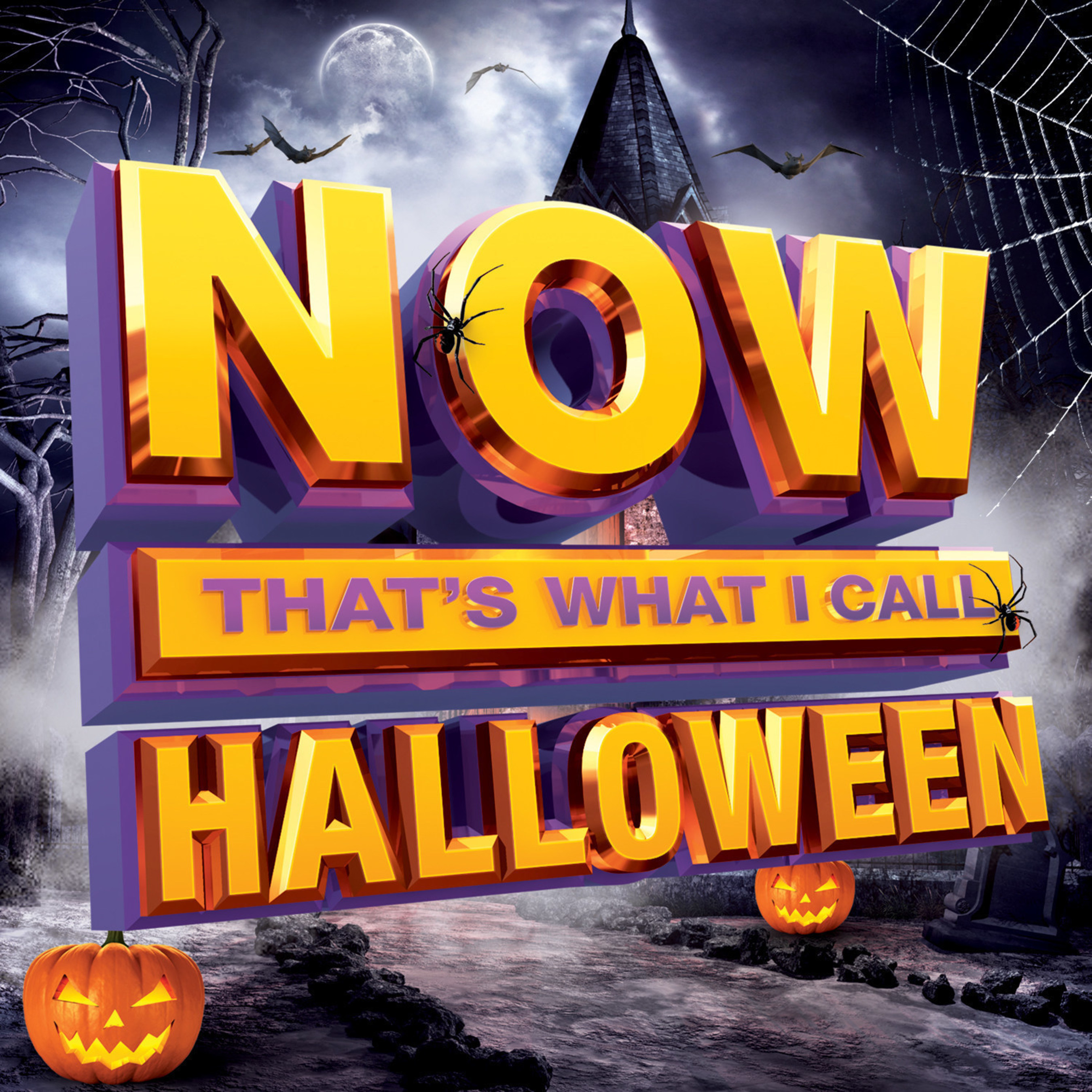 A spine-tingling collection of 18 bone-chilling hits, jams and instrumentals, NOW Halloween! will be available Friday, September 11, 2015.
