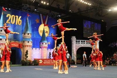 Indiana University All Girl Cheerleading